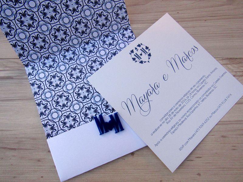 Convite Mayara e Marcos