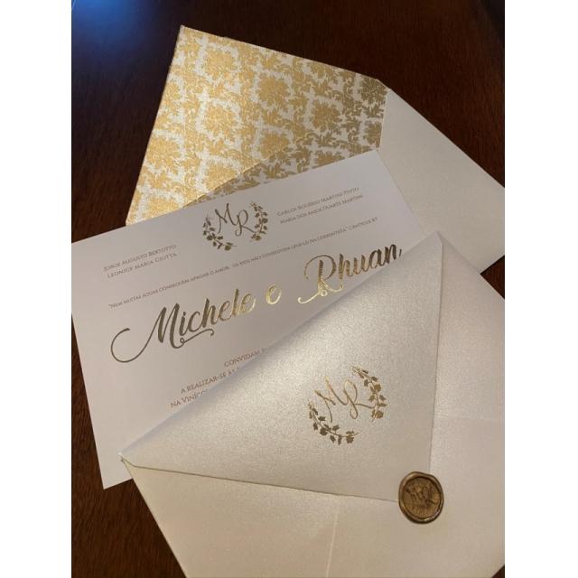 Convite Michele e Rhuan