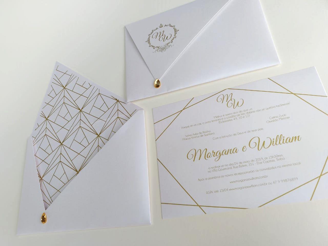 Convite Morgana e William