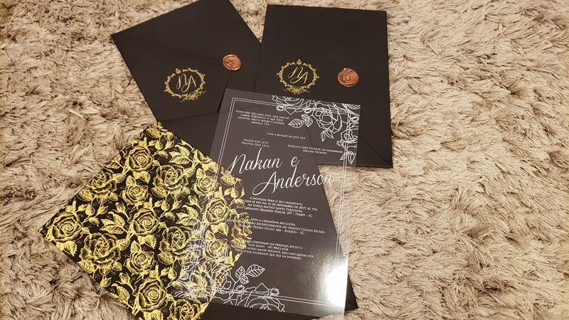 Convite Nakan e Anderson