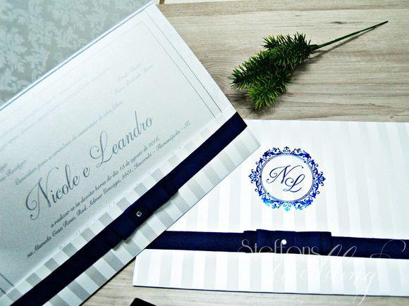 Convite Nicole e Leandro
