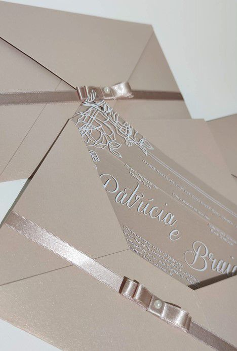 Convite Patricia e Braian