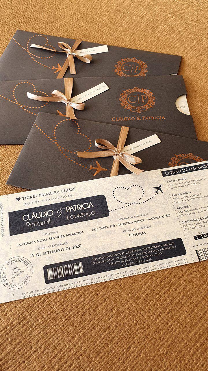 Convite Patricia e Claudio