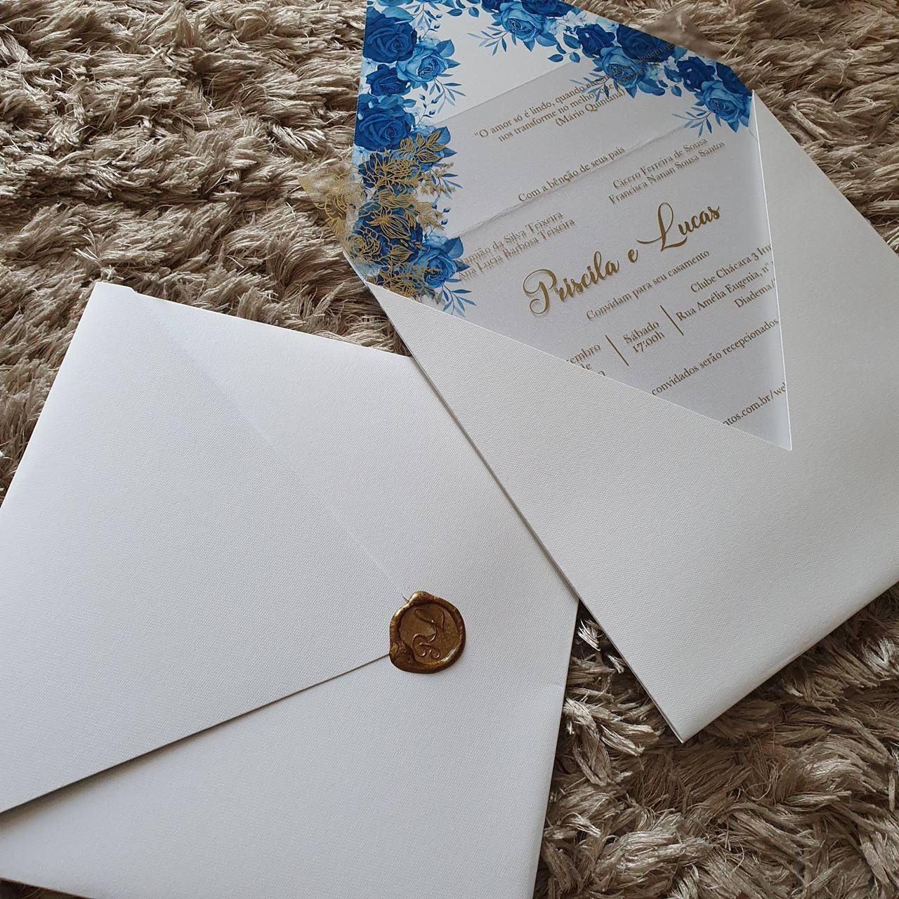 Convite Priscila e Lucas