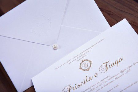 Convite Priscila e Tiago