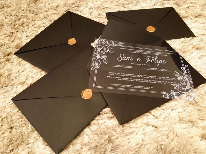 Convite Sani e Felipe