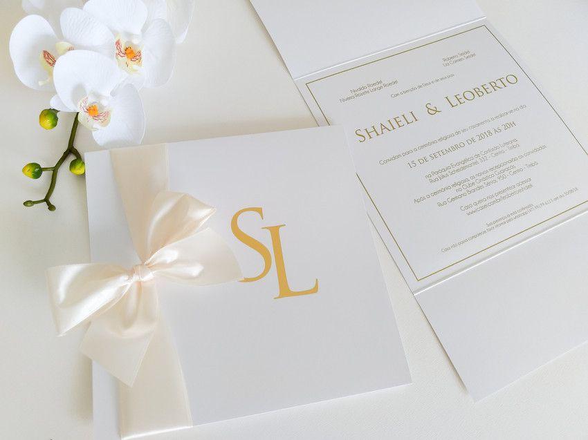 Convite Shaieli e Leoberto