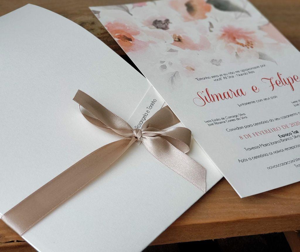 Convite Silmara e Felipe
