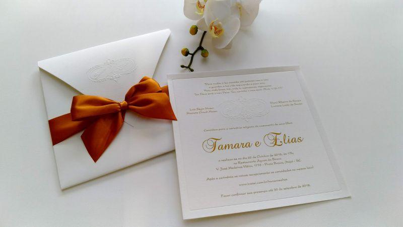 Convite Tamara e Elias