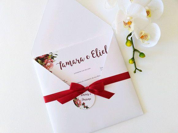 Convite Tamara e Eliel