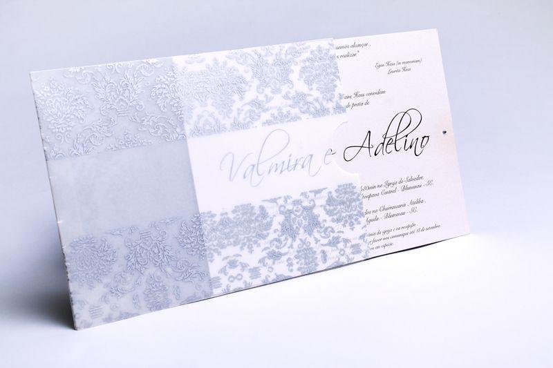 Convite Valmira e Adelino