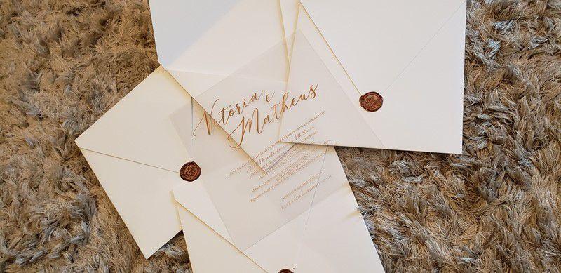Convite Vitória e Matheus