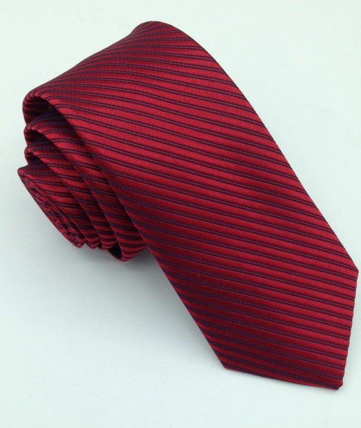 Gravata Trabalhada Tradicional Marsala