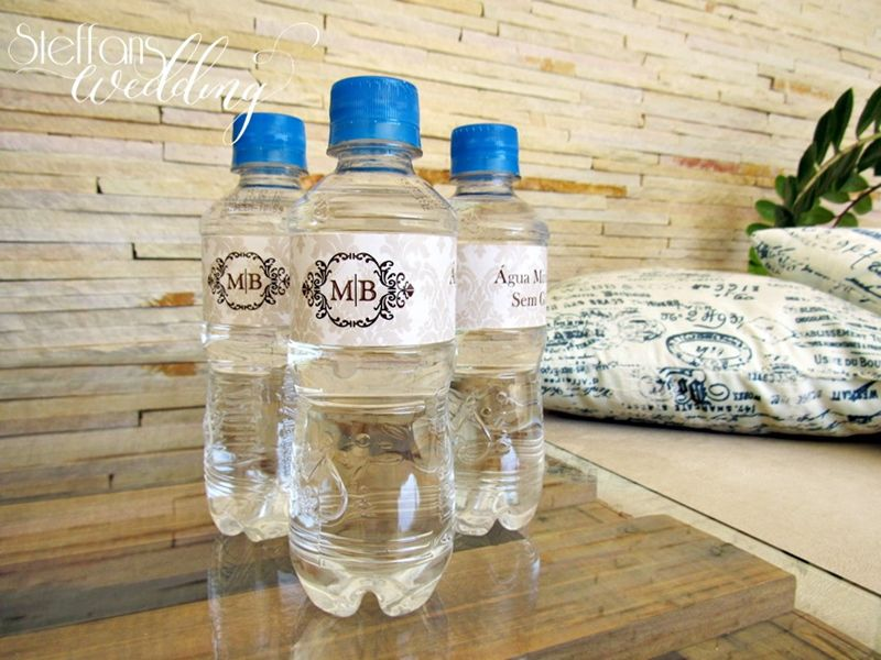 Rótulo para Água Personalizado