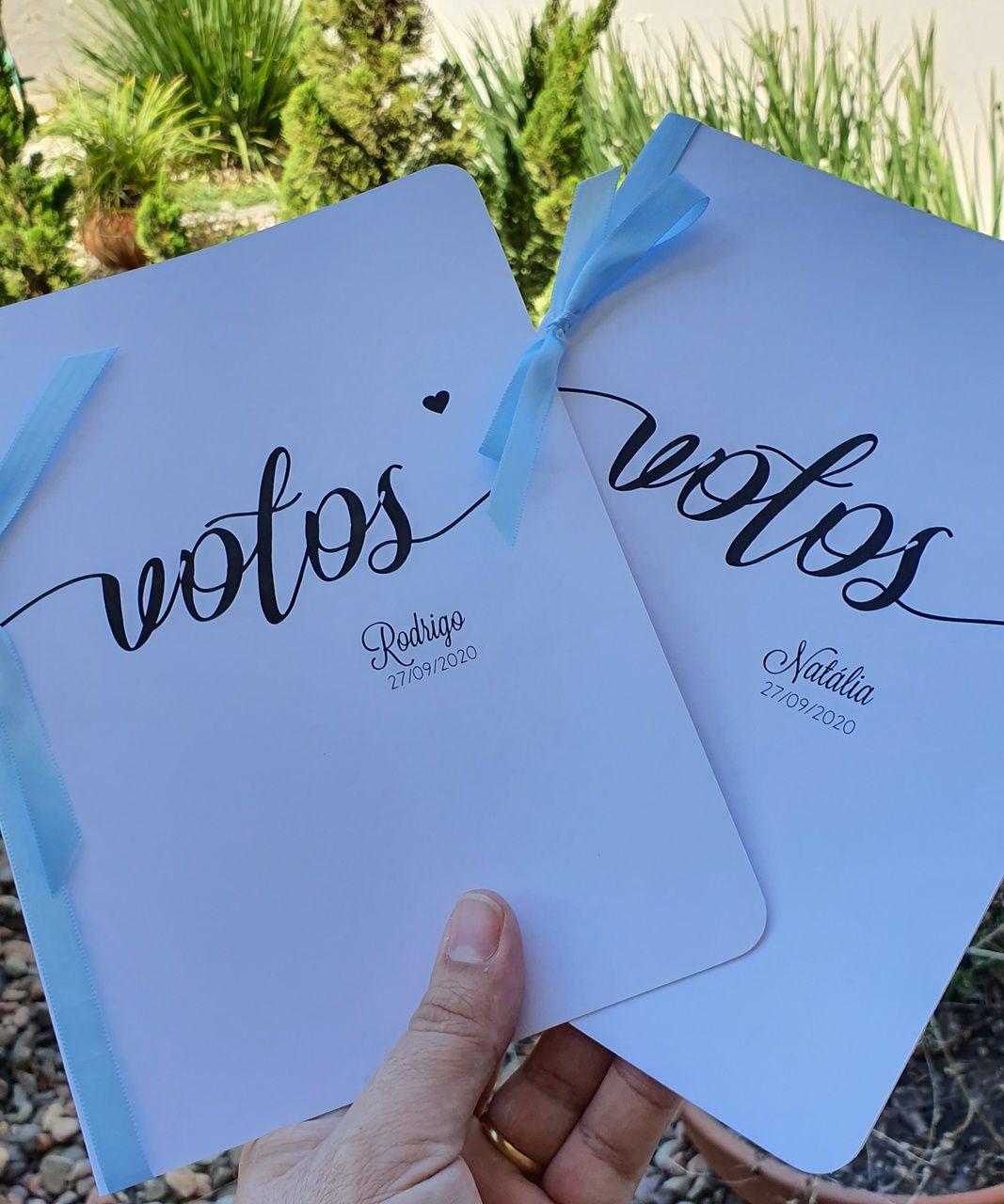Voto Rodrigo e Natália