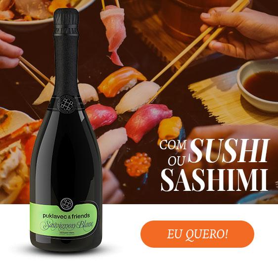 Harmonização com Sushi e Sashimi