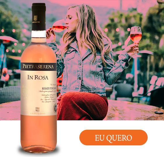 vinho da itália pietraserena rosato toscana