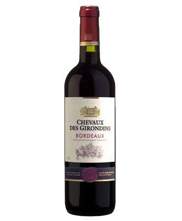 Chevaux Des Girondins Rouge Bordeaux 2016