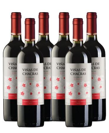 KIT Viñas de Chacras Cabernet Sauvignon - Compre 5 leve 6  - Carpe Vinum
