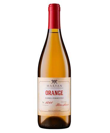 Maryan Orange Wine Dimyat Barrel Fermented 2016