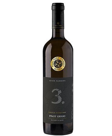 Puklavec Family Seven Numbers Single Vineyard Pinot Grigio 2016