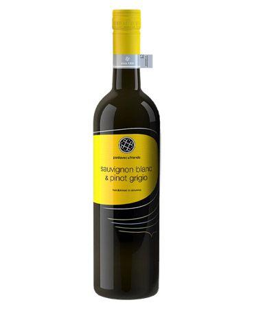 Puklavec & Friends Sauvignon Blanc e Pinot Grigio 2018