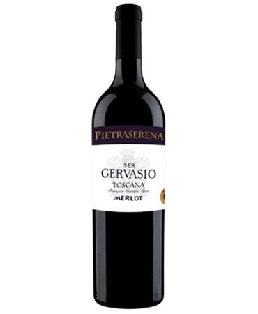 "SUPER TOSCANO Toscana Merlot ""Ser Gervasio"" 2015"