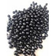 Bolinha de plástico preta - 25g
