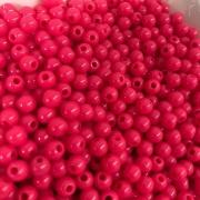 Bolinha de plástico rosa chiclete - 25g