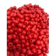 Bolinha de plástico vermelho - 25g