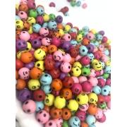 Bolinhas colorida de carinhas - 25g
