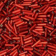 Canutilho Preciosa Vermelho Espelhado 3 polegadas = 7mm