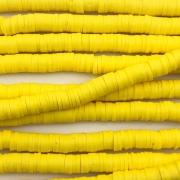 Fio de fimo amarelo 6mm