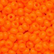 Miçanga Jablonex Laranja Fosco 6/0 ou 5/0