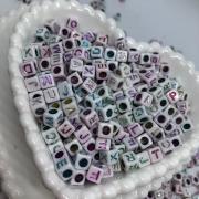 Cubo branco c/ letras Colors - 25g