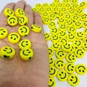 Miçanga - smile amarelo 25 gr