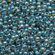 Miçanga Topaz e Água Lined Colorido jablonex 5/0 500g