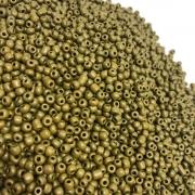 Miçangão mostarda 4.1mm (6/0) 25g