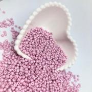 Miçangão rosa bebê 4.1mm (6/0) 25g