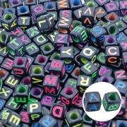 Miçangas De Letras Alfabeto 10mm Pacote  25g