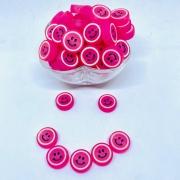 Smile pink 20mm / unidade