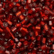 Vidrilhos Jablonex Vermelho Transparente  2x9/0=2,6mm