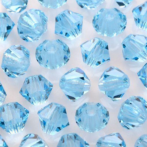 Balão Preciosa Aquamarine 4mm