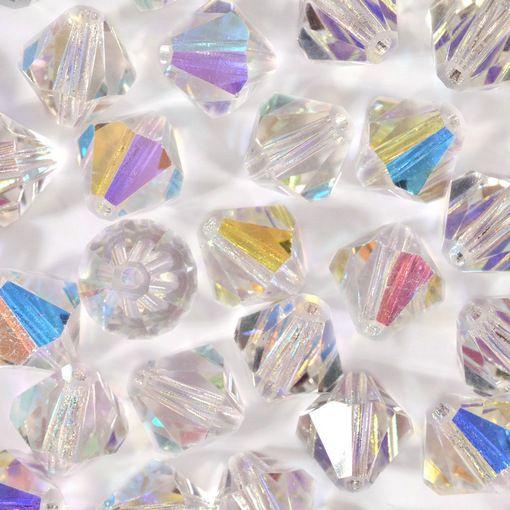 Balão Preciosa Cristal Aurora Boreal 4mm