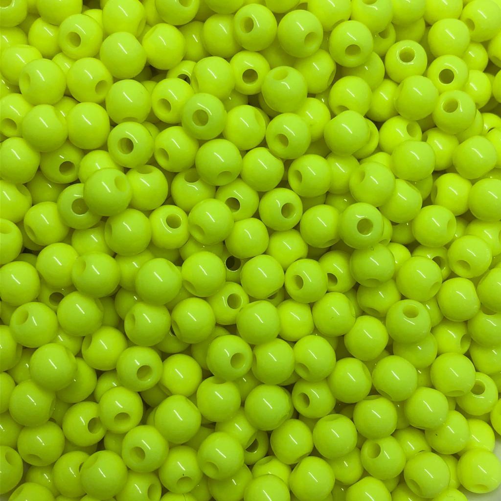 Bolinha de plástico amarelo - 25g