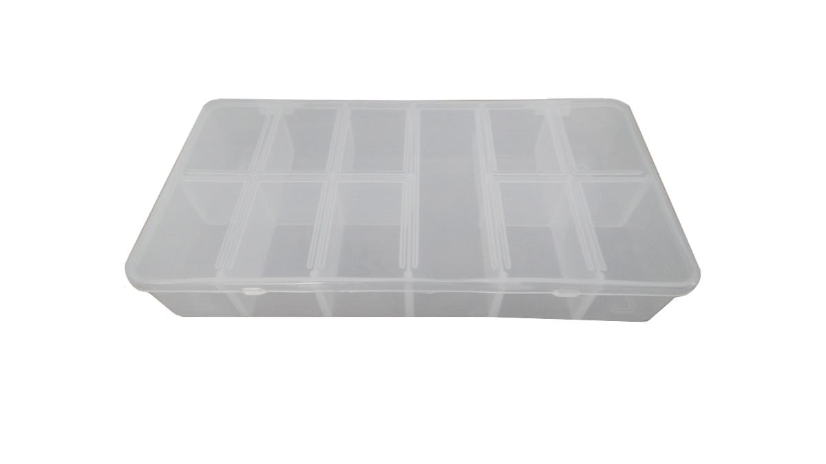 Caixa plástica organizadora - 11 divisões