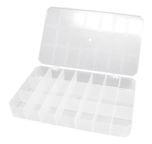 Caixa plástica organizadora - 21 divisões