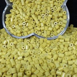 Canudinho passante amarelo 5x5mm 25g
