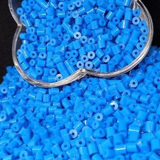 Canudinho passante azul 5x5mm 25g