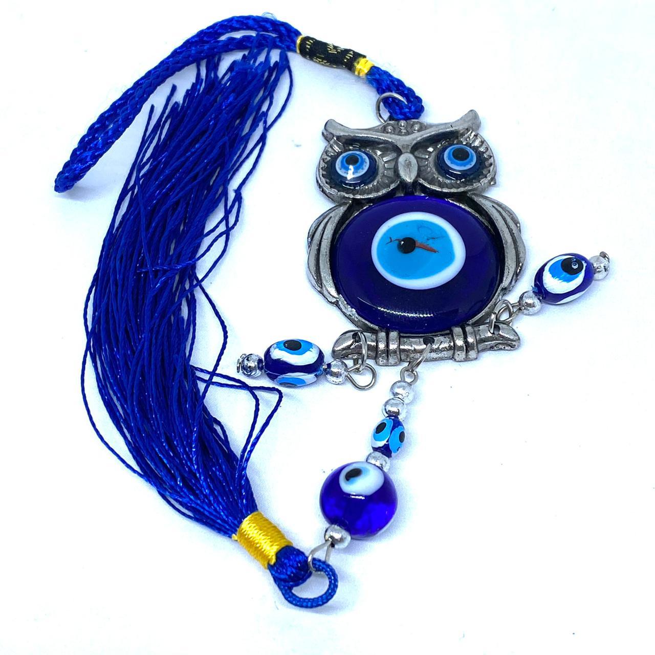 Chaveiro olho grego c/ coruja (5809)